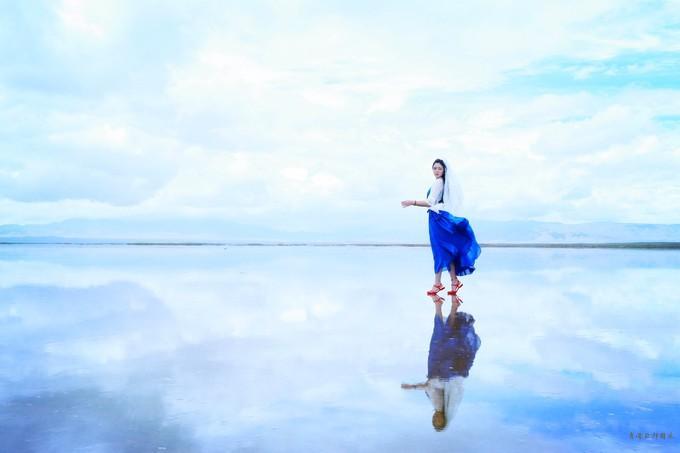 天空之镜 遇见最美的直接