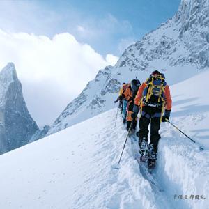 结伴登山去